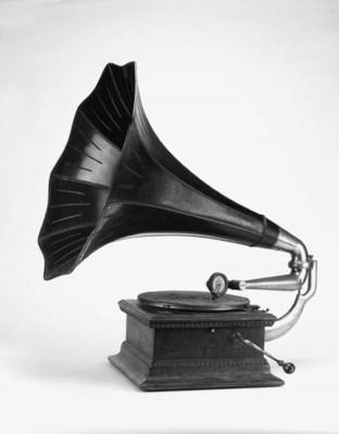 A Monarch Junior Gramophone