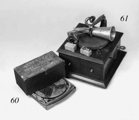A rare Neophone Home Recorder,
