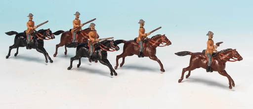 Set 38 South African Mounted I