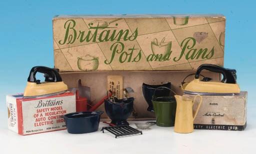 Post-war Pots and Pans
