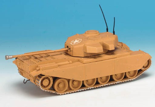 Rare Set 2154 Centurion Tank D
