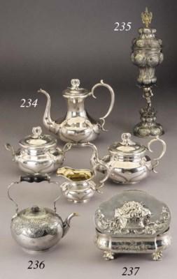 A silver Tea-pot