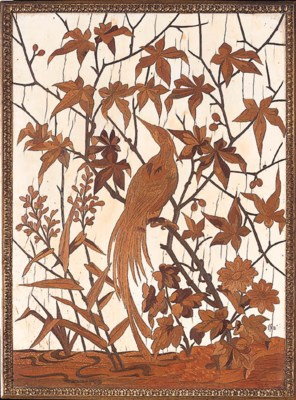 A French marquetry and ivory i