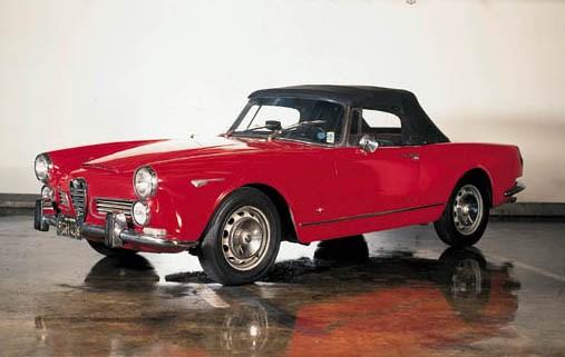1965 ALFA ROMEO 2600 SPIDER SU