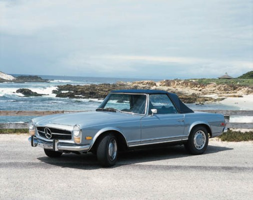 1969 mercedes benz 280sl convertible sports two seater for Mercedes benz two seater