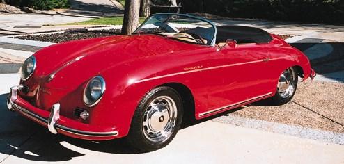 1956 PORSCHE 356A SPEEDSTER 16
