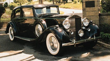 1936 ROLLS-ROYCE 40/50HP PHANT