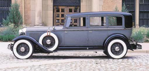 1931 LINCOLN MODEL K ENCLOSED