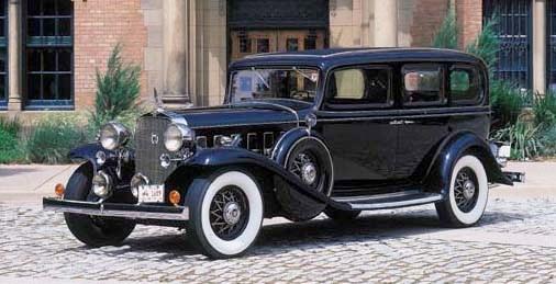 1932 CADILLAC V-12 MODEL 370B
