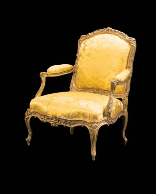 FAUTEUIL A CHASSIS D'EPOQUE LO