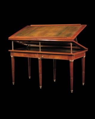 table d 39 architecte a la tronchin d 39 epoque louis xvi. Black Bedroom Furniture Sets. Home Design Ideas