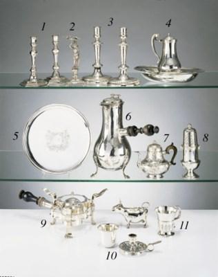 Rechaud de table en metal plaq