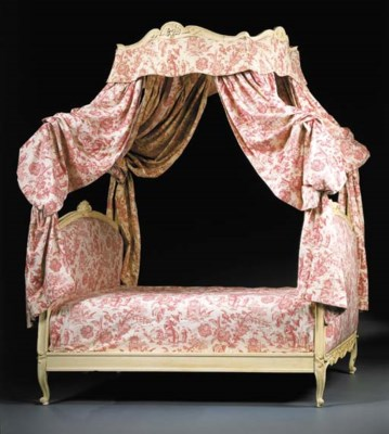 Lit a la polonaise d 39 epoque louis xv christie 39 s for Lit louis xv