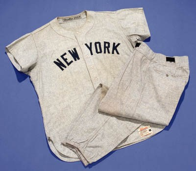 1959 NEW YORK YANKEES AWAY UNI