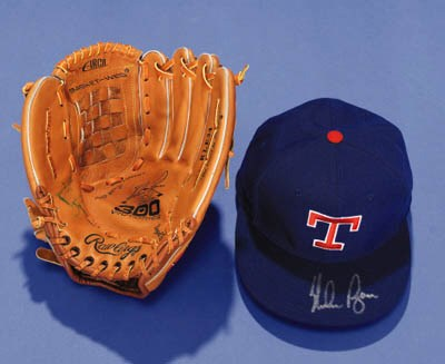 GROUP OF NOLAN RYAN SIGNED MEM
