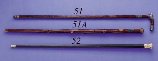 AN HISTORIC CANE BELONGING TO