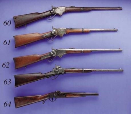 A .50 SPENCER MODEL 1865 SADDL