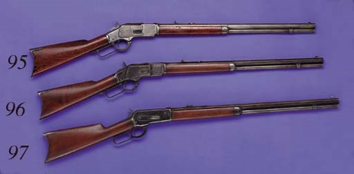 A .38 WINCHESTER THIRD MODEL 1