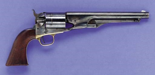 A RARE .44 RF COLT MODEL 1860