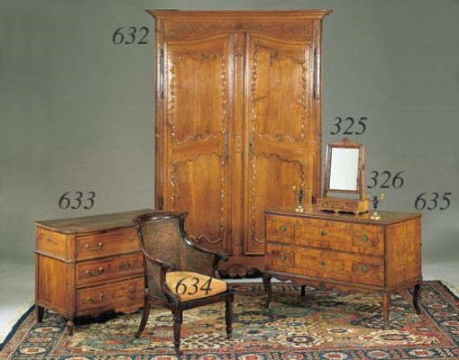 A LOUIS XVI FRUITWOOD COMMODE