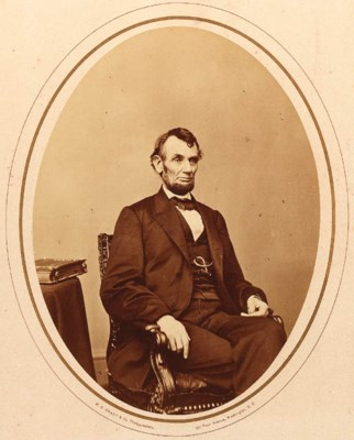 [LINCOLN, Abraham]. BERGER, An