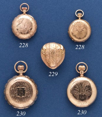 A PAIR OF POCKETWATCHES