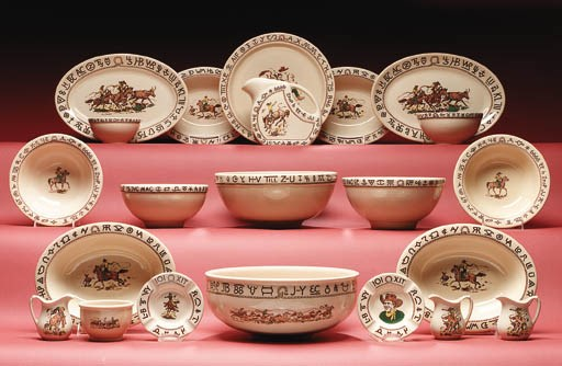 A SELECTION OF SERVING BOWLS A