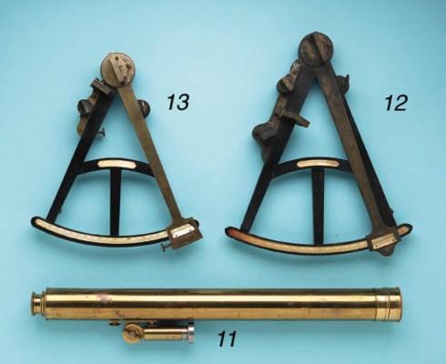 A Brass Library Telescope