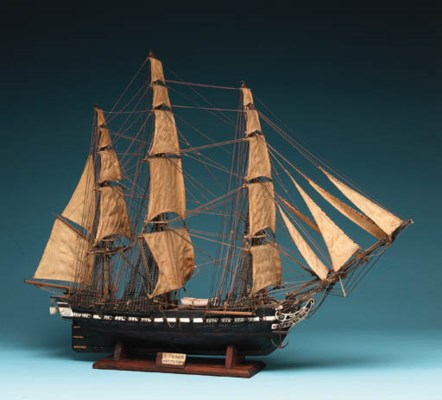 A Model Of The U.S. Frigate CO