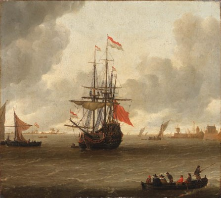 Attributed to Gerrit Pompe (Du
