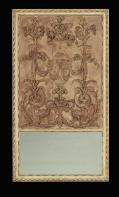 A LOUIS XVI CARVED PANEL WITHI