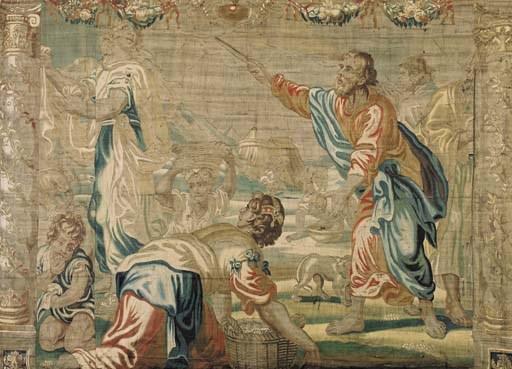 FLEMISH BAROQUE BIBLICAL TAPES