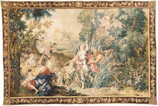 A LOUIS XIV BEAUVAIS MYTHOLOGI