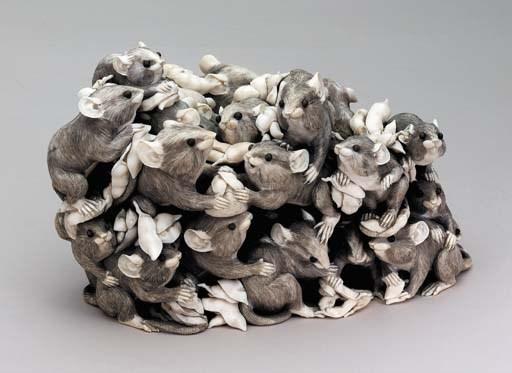 An Ivory Rat Group**