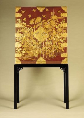 A Lacquer Wedding Chest
