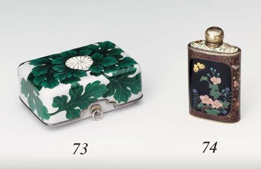 A Small Cloisonné Enamel Box