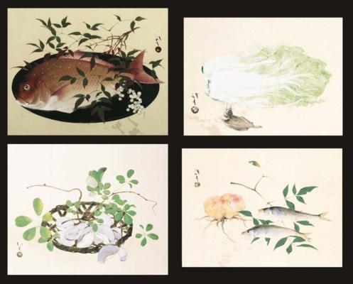 Kawabata Ryushi (1885-1966)