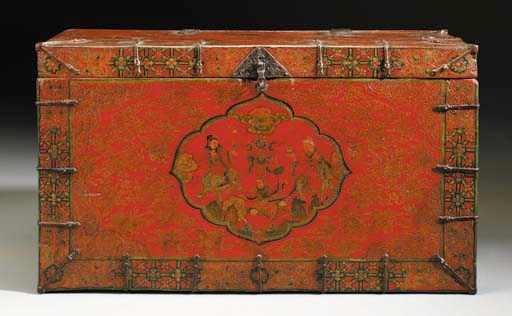 A Lacquered Chest