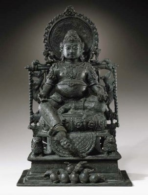 An Important Bronze Figure of