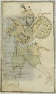 A Mongol Prince Dressed for Ba