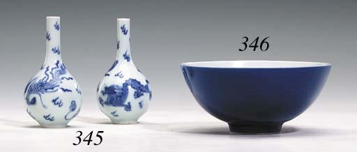 A Blue-Glazed Bowl