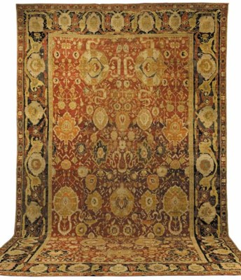 AN AGRA CARPET