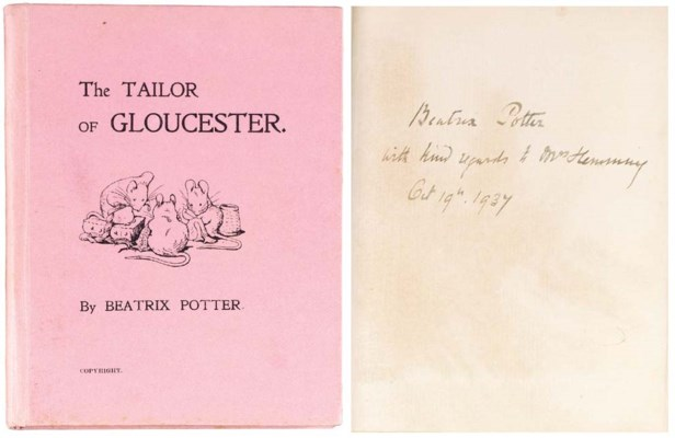 POTTER, Beatrix.  The Tailor o