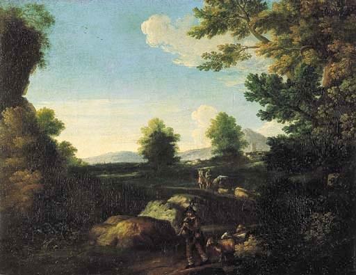 Seguace di Pieter van Bloemen,