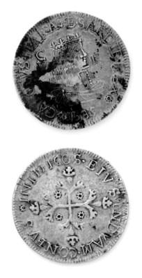 Carlo II di Spagna, 5 Reali, 1