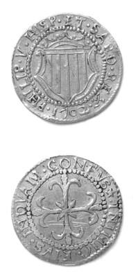 Filippo V di Spagna, Scudo d'o