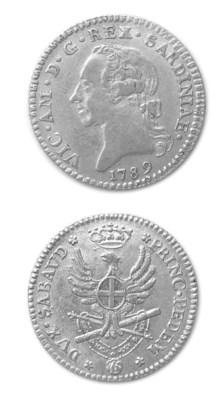 Vittorio Amedeo III, Doppia, 1