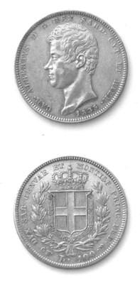 Carlo Alberto, 100 Lire, 1835,