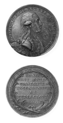 Ferdinando IV, Per la Premiazi