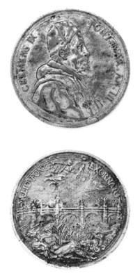 Clemente IX, Rospigliosi, bron